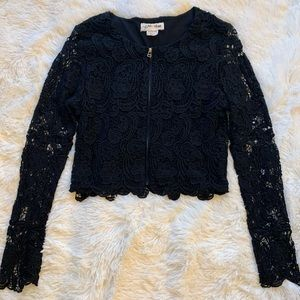 Anthropologie LILI'S CLOSET lace jacket cardigan